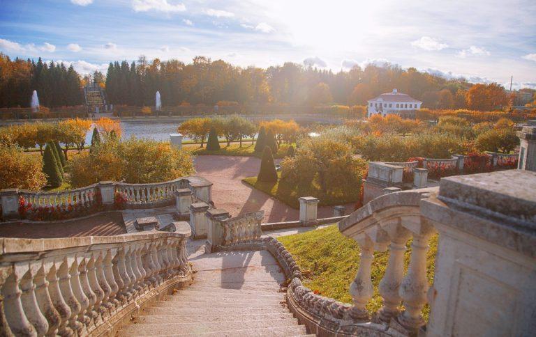 Peterhof park